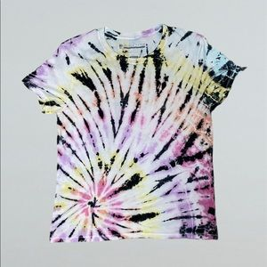 Prince Peter Collection Swirl Tie-Dye T-Shirt NWOT
